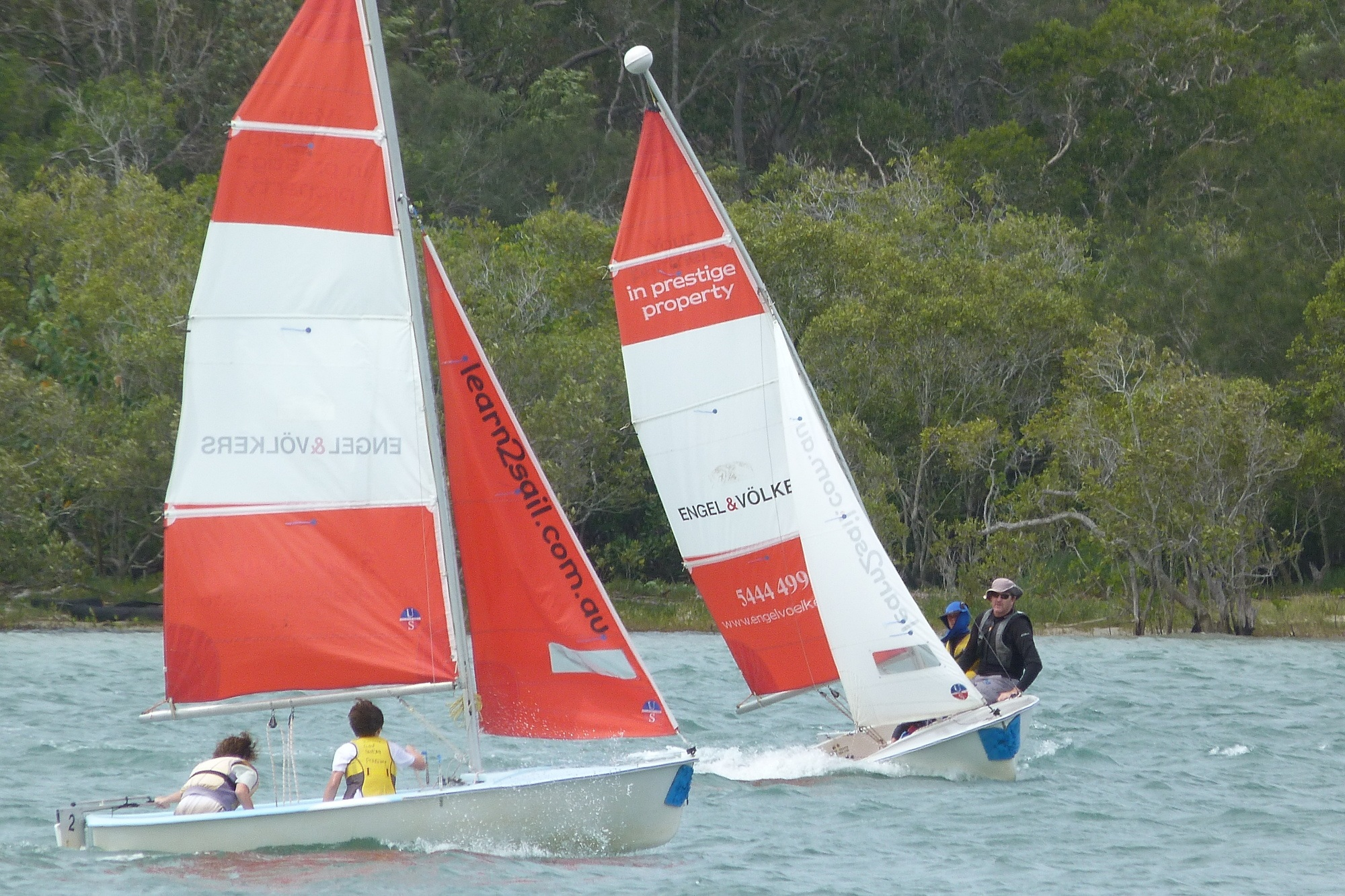 Sunshine Sailing - Kids learn to sail