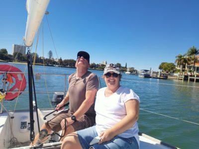 Keelboat Sail