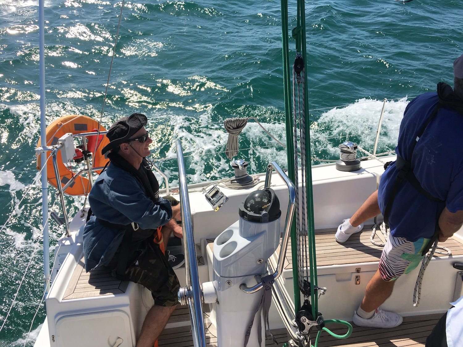 RYA Competent Crew Sailing Course in Mooloolaba and Whitsundays